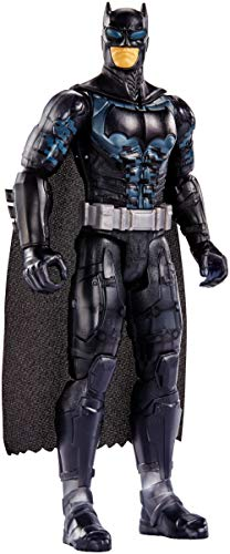 Mattel FPB51 DC Justice League Movie Basis Figur Batman Tarnanzug, 30 cm