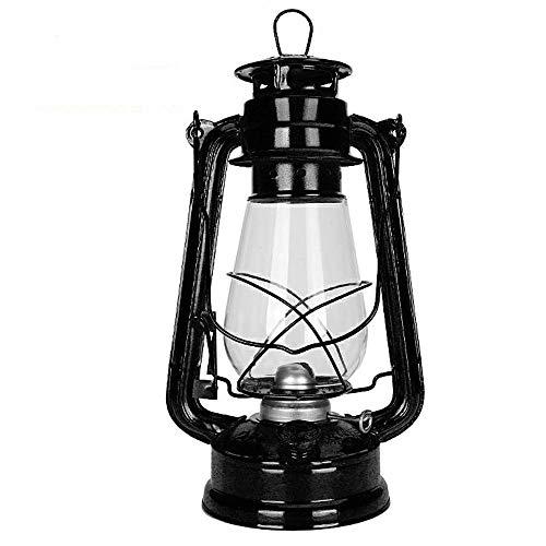 Lámpara de aceite retro vintage lámpara de aceite retro lámpara de kerosene lámpara de país aire nostálgico luz linterna luz para la falla de emergencia Fallo de alimentación CAMPSITE TABLA DE CHEEROS