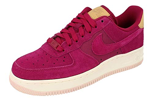Nike Damen WMNS Air Force 1 '07 PRM Basketballschuhe, Mehrfarbig (True Berry/True Berry/Summit White 602), 36.5 EU