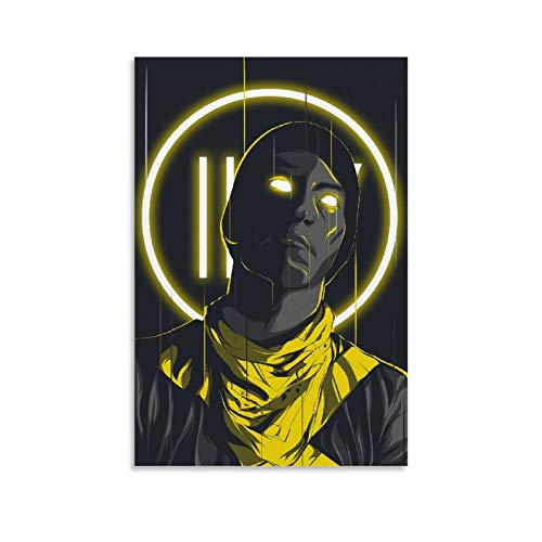 AAOO Josh Dun Twenty One Pilots - Póster decorativo (60 x 90 cm)