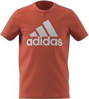 adidas B Bl T Children's T-Shirt, Boys, T-Shirt, GN3991, Naraut/White, 10 Years