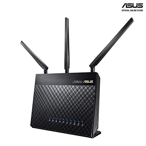 ASUS RT-AC5300 AC5300 Tri-Band WiFi Gaming Router, MU-MIMO, AiProtection Lifetime Security by Trend Micro, AiMesh Compatible for Mesh WiFi System,...