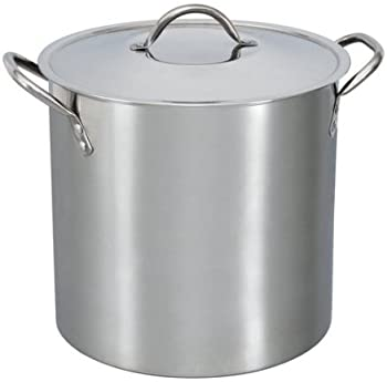Mainstays Stainless Steel 12 Quart Stockpot with Lid