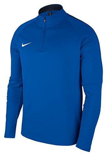 NIKE M NK Dry Acdmy18 Dril Top LS Long Sleeved t-Shirt, Hombre, Royal Blue/Obsidian/White, M