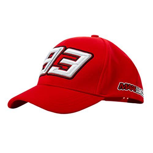 Marc Marquez 2019 93 MotoGP Gorra de béisbol para Adulto, Talla únic