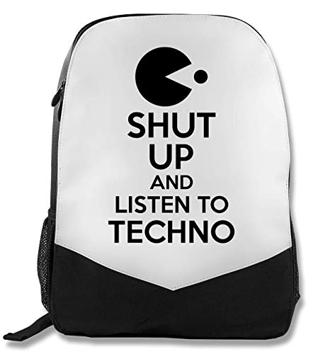 Shut Up and Liste to Techno Rucksack