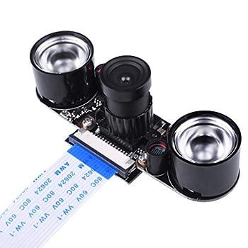 Kuman カメラモジュール Raspberry Pi用 夜間 赤外線可視