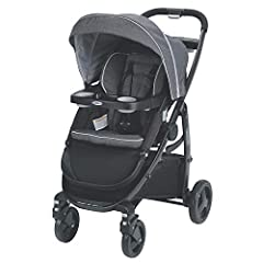 Accepts all Graco infant car seats (sold separately) with a secure one-step attachment to create your own travel system 3 Strollers in 1 with 10 riding options from infant to toddler: 1. Infant Car Seat Carrier 2. Infant Stroller 3. Toddler Stroller ...