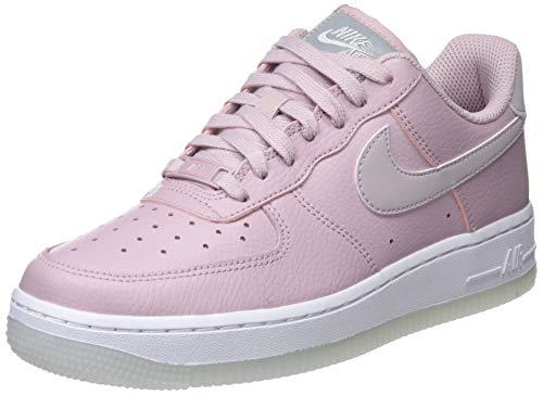 Nike Wmns Air Force 1 '07 ESS, Zapatillas de Gimnasia Mujer, Rosa (Plum Chalk/Plum Chalk/White/Mtlc Luster 500), 44.5 EU