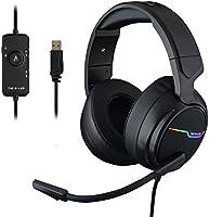 The G-LAB Korp THALLIUM Gaming Headset USB 7.1 Digital Surround Sound - Hoogwaardige Audio Gaming Headset -...