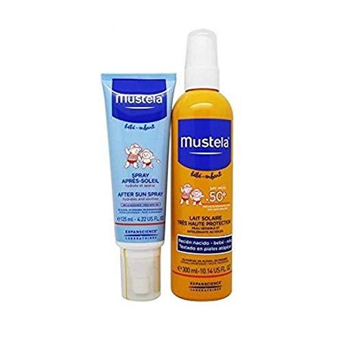 Mustela Pack Spray Solar SPF50+ 300ml + Spray Post Solar 125ml