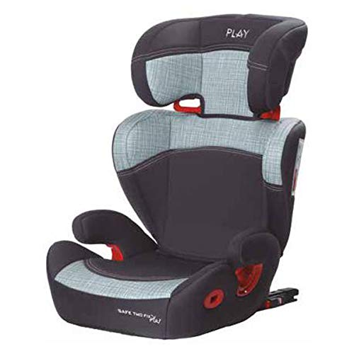 Play Safe Two Fix Plus 30182F - Silla de coche grupo 2/3 Isofix, Gris