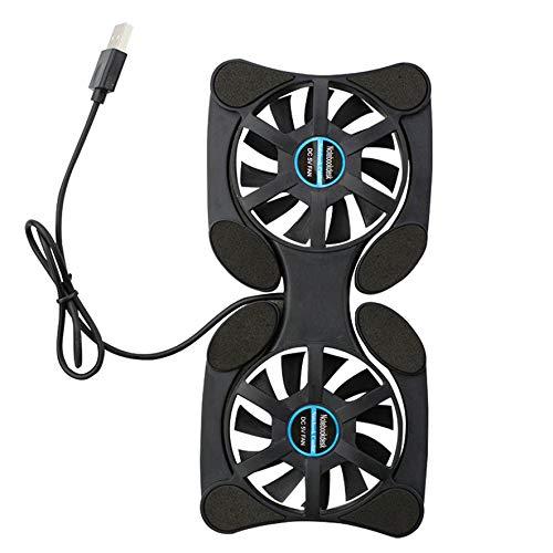 Rouku Laptop Fan Cooler USB Fan Cooler Cooling Pad para PC portátil