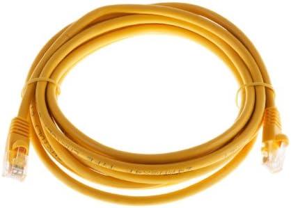 Pure Copper CablesAndKits - PVC Jacket RJ45 Computer /& Networking Patch Cord cm 100 Pack CAT5E Snagless Boot 14ft Blue UTP Ethernet Cable