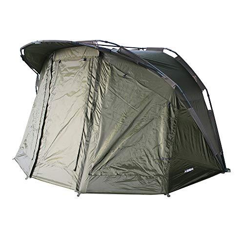 AGEM Karpfenzelt 2 Mann Angelzelt 2 Personen Camping Tent Outdoor Bivvy Zelt Angeln