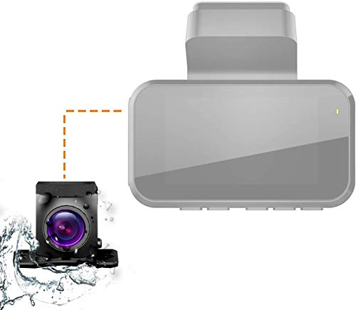 Rexing Waterproof Rear View Camera, for V5 Premium 4K Modular Capabilities Car Dash Cam | 1080p | Modular Add-On | Water Resistant | Night Vision | 170° Wide Angle | Live Support | 18 Month Warranty