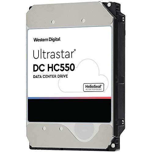 Western Digital WD Ultrastar DC HC550 16TB SATA 6Gb s 7200RPM 3.5-Inch Data Center HDD (WUH721816ALE6L4)