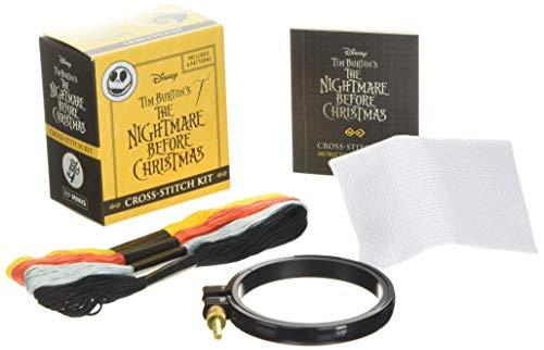 Disney Tim Burton's The Nightmare Before Christmas Cross-Stitch Kit (RP Minis)