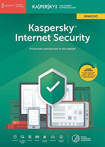 SOFTWARE INTERNET SECURITY 2019 UPDATE 3 CLNT (KL1939T5CFR-9SLIM) RINNOVO