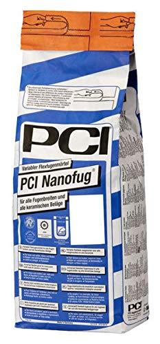 PCI Nanofug Variabler Flexfugenmörtel 4 kg - 19 Basalt - Für alle Fugenbreiten mit hohem optischem Anspruch