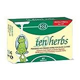 ESI Ten Herbs Digestive Colon Cleanse, 40 Tablets