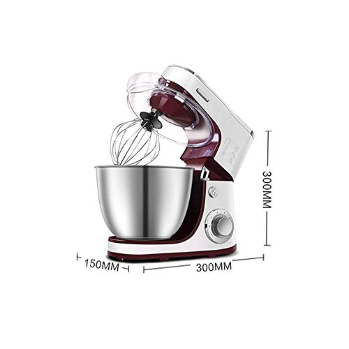 Affordable Beater 4.2L Stand Mixer 800 Watt 6+P Speed Control Electric Mixer 304 Stainless mixer electric Multi-Purpose Low Noise Whipping & Mixing Hand Mixer Electric,800w