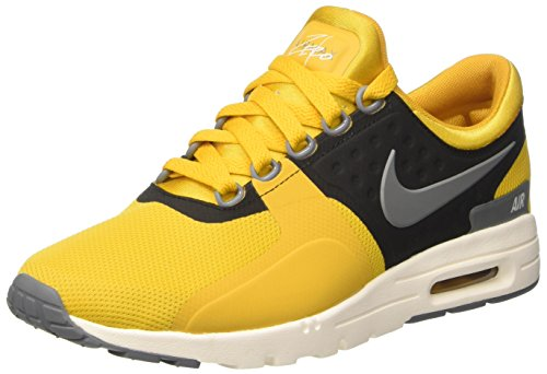 Nike Wmns Air MAX Zero, Zapatillas Mujer, Dorado (Gold Dart/Cool Grey/Ivory/Black), 38.5 EU