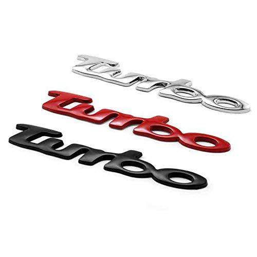 WANGLEISCC fürPorsche 911, Auto Styling Auto hinten vorne 3D Metall Turbo Emblem Abzeichen Aufkleber Cayenne Boxen-TER 918 Spyder Macan Panamera