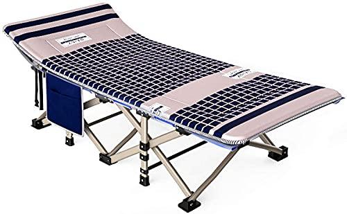 Silla de gravedad cero reclinada al aire libre Silla de camping reclinable de 4 veces con cuna plegable cama de alta resistencia Malla portátil y ligeramente con bolsillo lateral, para playa, patio, p