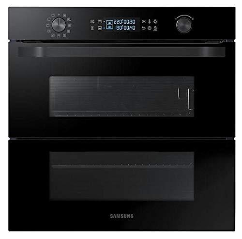Samsung - Forno multifunzione Dual Cook Flex da incasso NV75N5641RB finitura vetro nero da 60cm