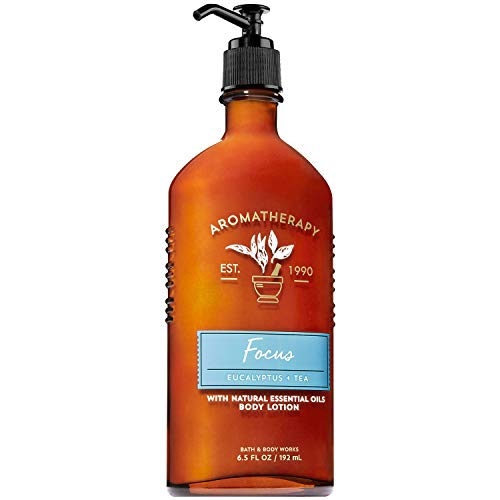Bath and Body Works Aromatherapy Focus - Eucalyptus Tea Body Lotion 6.5 Fluid Ounce