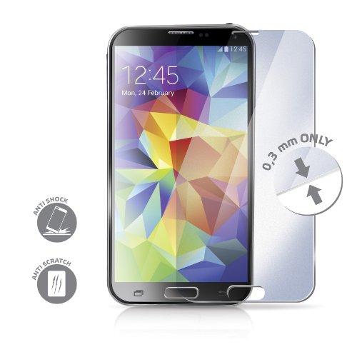 Celly 8021735095088 gehard glas scherm scherm beschermfolie voor Samsung Galaxy S5