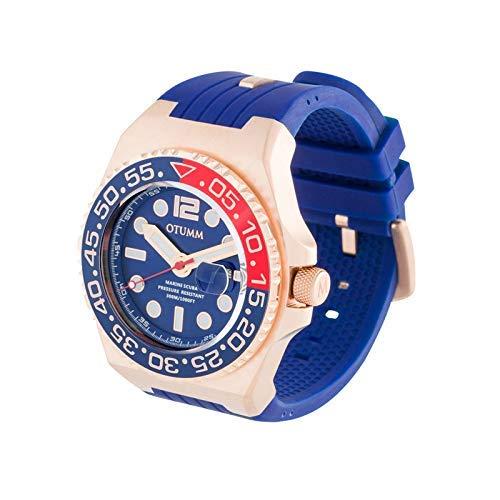 Otumm Scuba Unisex Reloj 30ATM/300M 45mm Calendario...