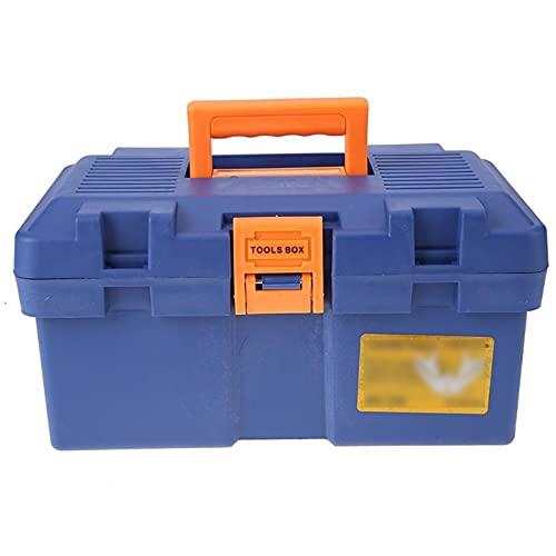 Cajas de piezas pequeñas Mantenimiento de herramientas multifunción Plastic Home Vehicle Mantenimiento Arte de mano Hardware caja de almacenamiento de hardware con mango de trabajo de reparación de tr