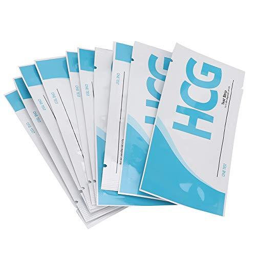 10 Stks HCG Urine Zwangerschap Test, Vroege Zwangerschap Test Strips, Wegwerp voor Persoonlijke Vroege Zwangerschap Test…
