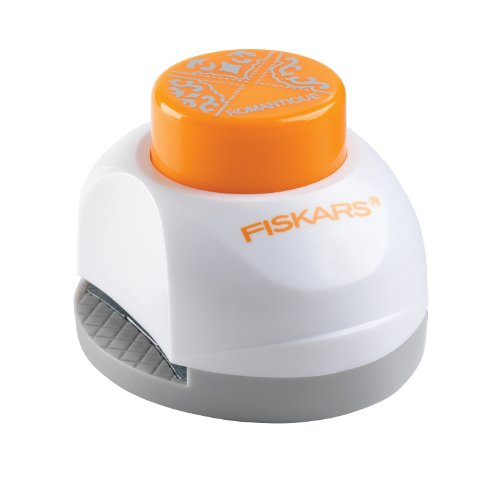 Fiskars 3-in-1 Corner Punch, Romantique