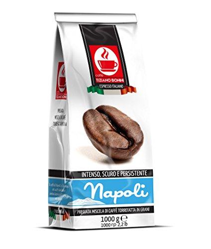 Napoli: 1kg Italian Blend Roasted Coffee Beans: Intense, Dark & Persistent