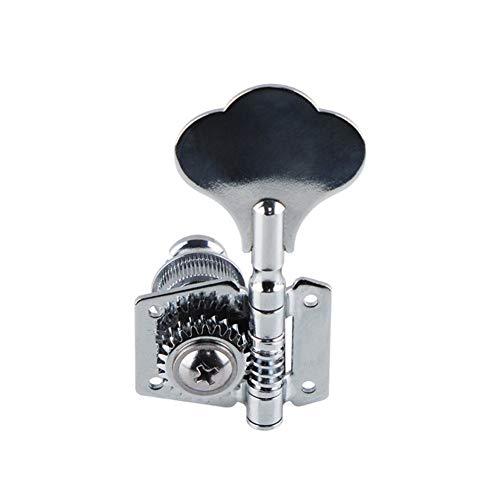 Shell Elettrico Driver Aprire sintonizzatore manopola di sintonia della Stringa Chiave Pin Tuner for Basso Elettrico Parti di Strumenti Musicali (Color : Black)