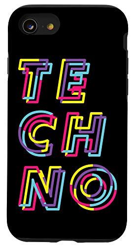 iPhone SE (2020) / 7 / 8 Techno Rave Gabber - DJ EDM Clubbing Raver Case