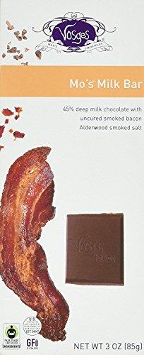Mo's Milk Chocolate Bacon Bar (3oz)