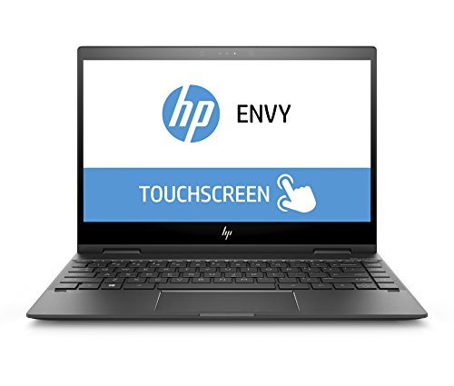 HP ENVY x360 13-ag0005ng (Touchdisplay 13,3 Zoll / Full HD IPS) Convertible Laptop (AMD Ryzen 5 2500U, 512 GB SSD, 16 GB RAM, AMD Radeon Vega, Windows 10 Home 64) Dark ash silber