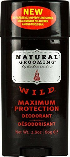 Herban Cowboy Wild Deodorant Maximum Protection, 2.8 Ounce