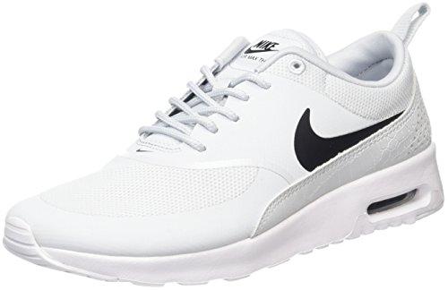 Nike Air Max Thea 599409 Damen Laufschuhe, Elfenbein (Pure Platinum/black/white), 36.5 EU