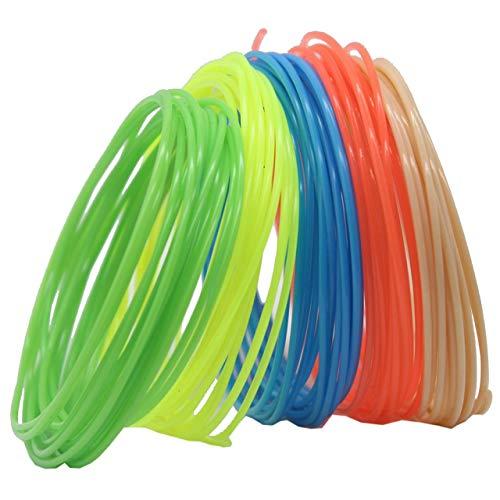 Easyeeasy 3D-Stift / 3D-Druckerfilament, PLA-Filamentpackung mit 40 verschiedenen Farben, hochpräzise Filament-Zufallsfarbe