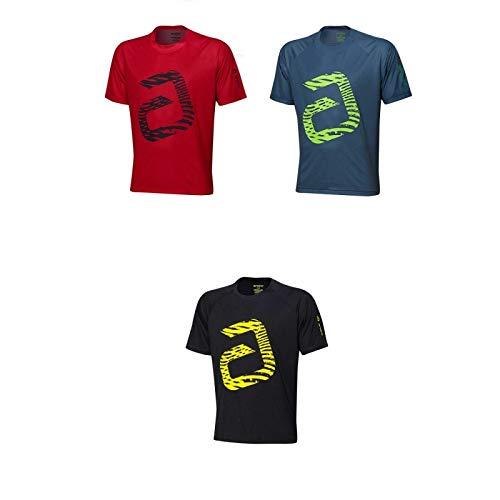 ANDRO T-Shirt Ashton Optionen S, grau/neongrün