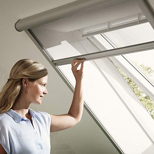 Velux - Mosquitera para tragaluz, altura 160/200/240cm, permite ventilación, transparente, MK10 78x160cm