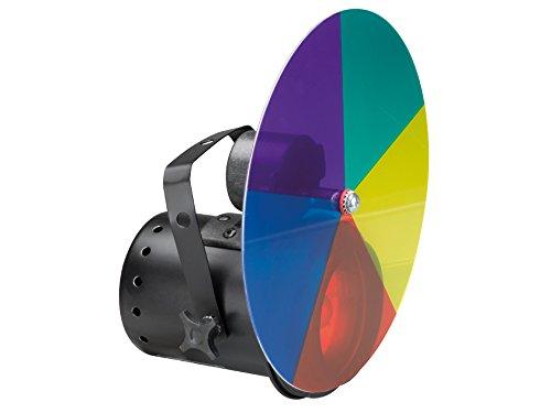 HQ-POWER - VDLP36CW 30 W PAR36 Pinspot mit Farbscheibe und Motor 640090
