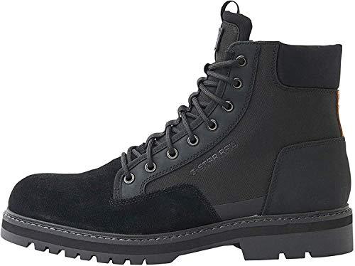 G-STAR RAW Herren Powel Boot Klassische Stiefel, Schwarz (Black 990), 44 EU