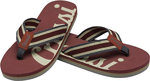 Cressi Flip Flop Portofino, Burgundy, 41, XVB9575541