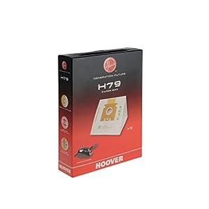 Hoover H79 Bolsa para aspiradora, 3 litros, Paper